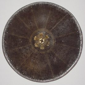 Etched and Gilt Italian Shield ca.1580