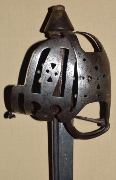 18th Century English Basket Hilted Backsword