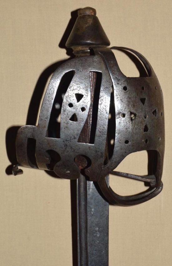 18th Century English Basket Hilted Backsword