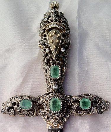 Rare Medici Family Dagger