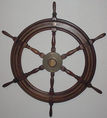 WW2 Ship's Wheel