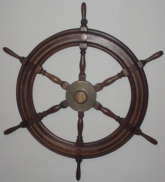 WW2 Ship's Wheel