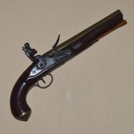 English Brass-barreled North American Trade Pistol, ca. 1790
