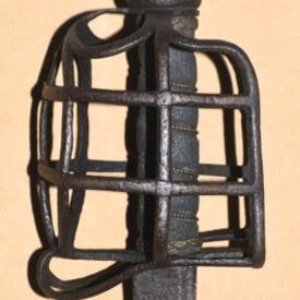 Signed Scottish Basket-hilted Backsword, ca. 1740