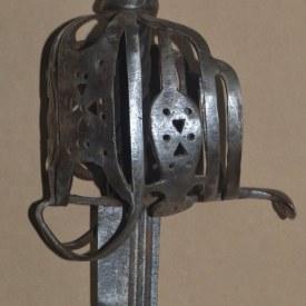 English Basket-hilted Horseman's Sabre for Scottish Troops, 3rd Quarter 18th C