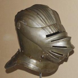 German Maximilian Style Triple Comb Close Helm, ca. 1525