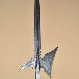 Etched Halberd of the Guard of Austrian Archduke Karl II Franz Dated 1570