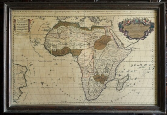 1692 Map of Africa
